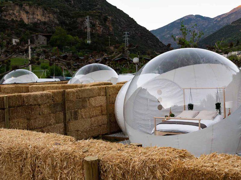 Las Burbujas de Nomading Camp