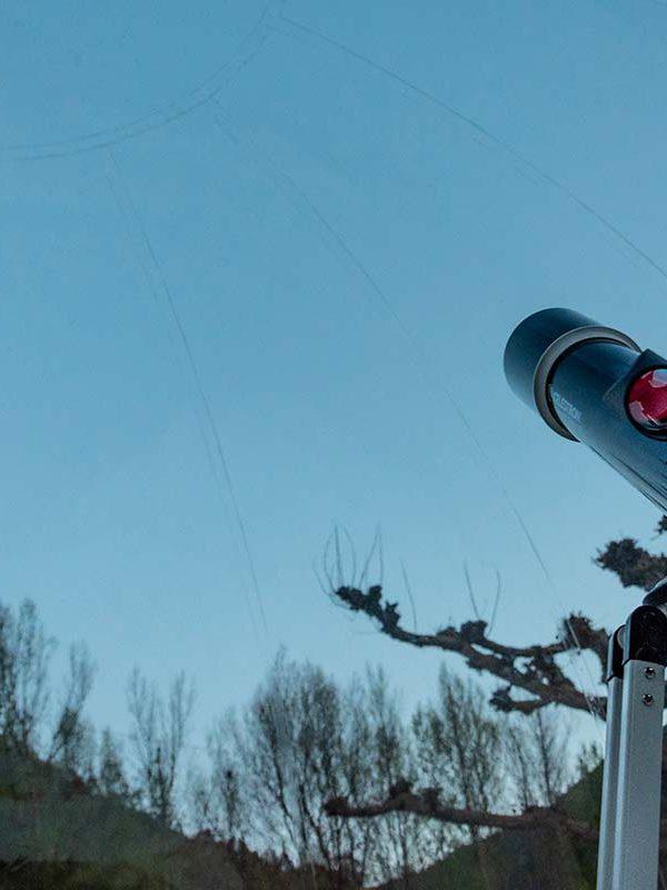 Hotel Burbuja Andorra telescopio